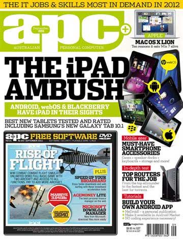 Australian Personal Computer Aug 2011 Issue Front Cover
