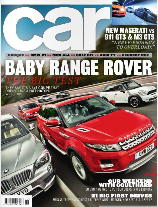 Car UK Edition Aug 2011 Issue Front Cover