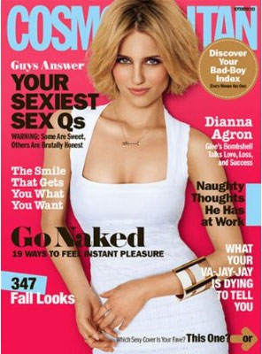 Cosmopolitan US Edition Aug 2011 Front Cover
