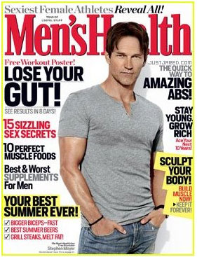 Men's Health July/Aug 2011 Issue Front Cover