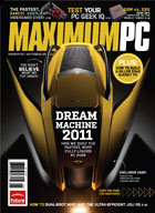 Maximum PC Aug 2011 Front Cover
