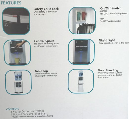 Advante H2O Water Filtration System
