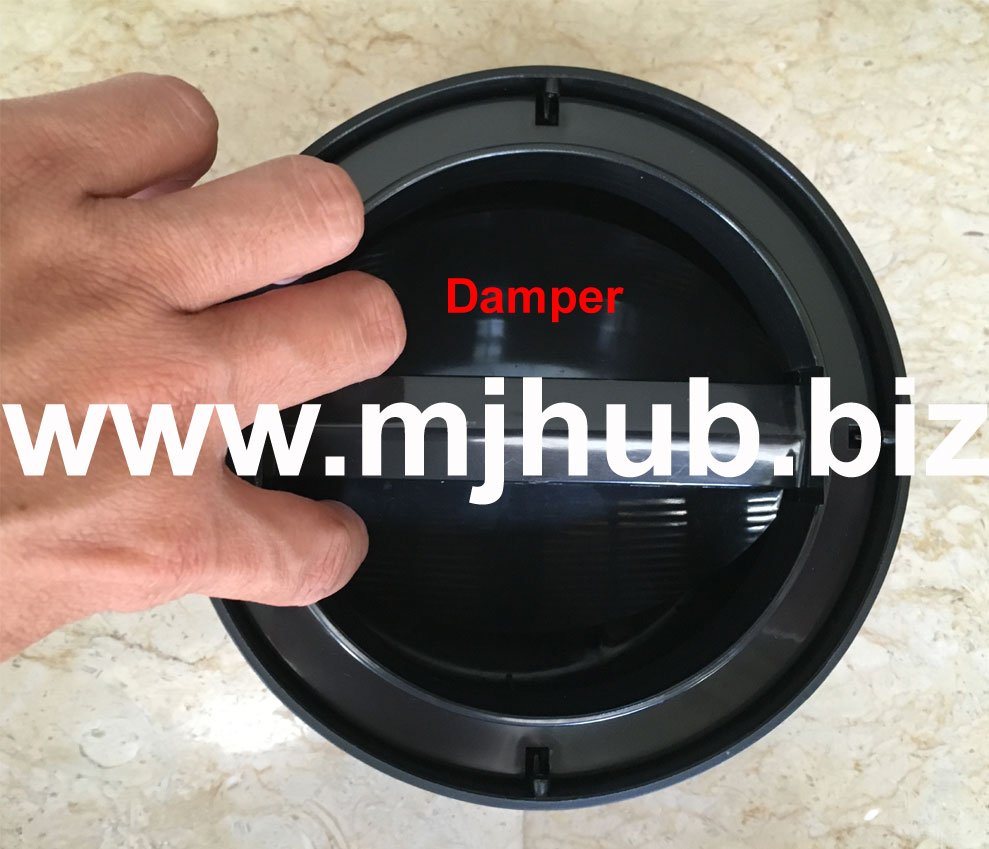 Pest-Stop V6 Mozzie Magnet - Damper