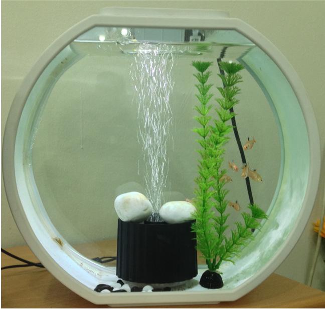 Deco O Mini Fish Tank Mj Hub Pte Ltd