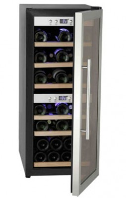 Farfalla 24 Bottles Wine Cooler FWC-24S3G