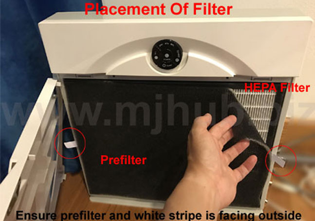 PlasmaWave Air Purifier AirVita Pre-filter
