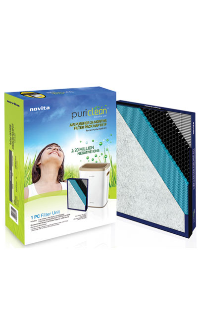 Novita Nap811i Air Purifier Filter 24 Months Replacement
