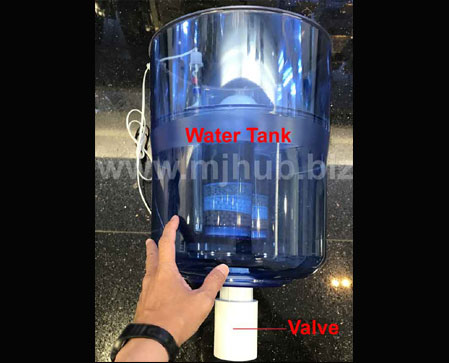 Solution To Prevent Water Leak - H20 Advante Water Dispenser