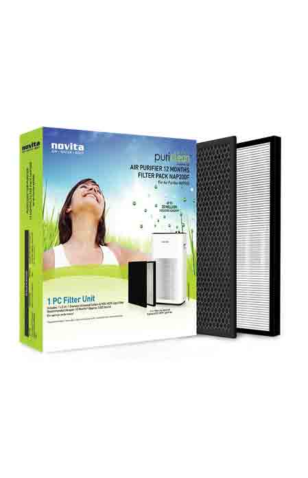 Novita NAP200 12-Months Filter Pack Replacement