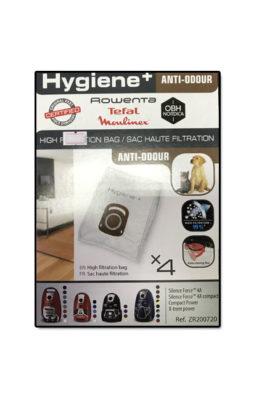 Rowenta/Tefal/Moulinex Anti-odour High Filtration Bag