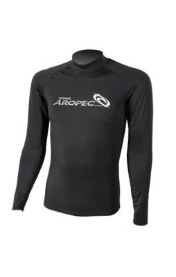 Aropec Rash Guard Long Sleeve (Black)